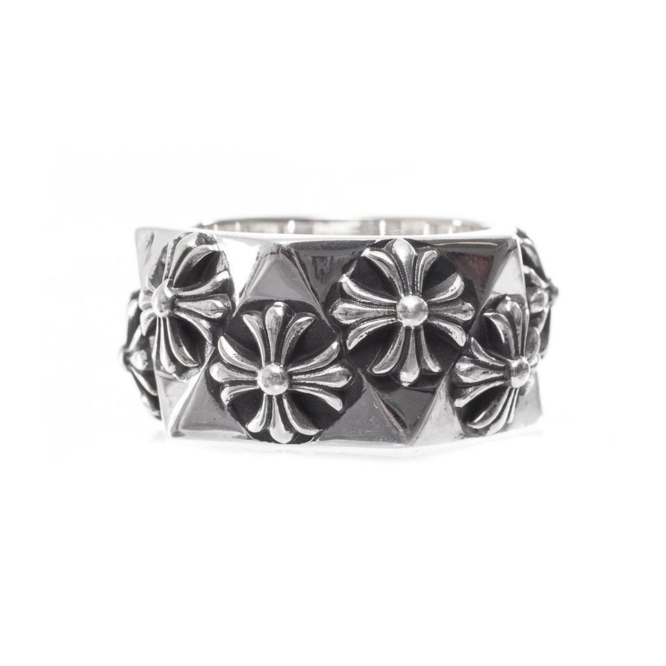 bee252c0d27b Chrome Hearts Silver Pentagon Ch Plus All Sizes Ring - Tradesy