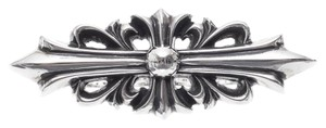 Chrome Hearts FLORAL CROSS TWO FINGER LONG RING ONE SIZE