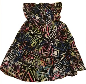 Material Girl short dress Multicolor on Tradesy