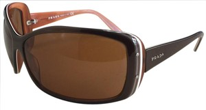 Prada PRADA brown oversized sunglasses