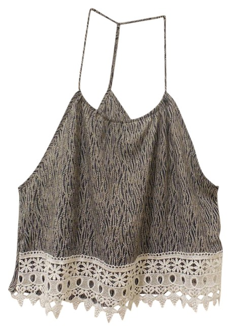 Preload https://img-static.tradesy.com/item/20815878/black-and-white-dotted-bubbles-w-lace-bottom-tank-topcami-size-8-m-0-1-650-650.jpg