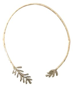 Banana Republic Hammered Open Collard Necklace