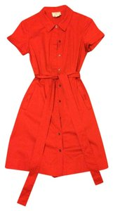 Kate Spade Shirt Bow Pocket Dress