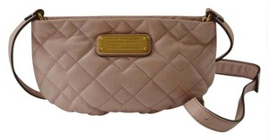 Marc by Marc Jacobs Leather Neutral Cross Body Bag