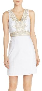 Lilly Pulitzer short dress Resort White Lilly Shift on Tradesy