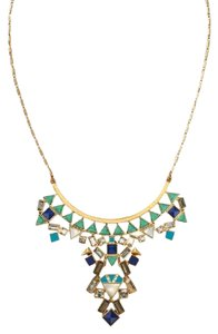 Stella & Dot STONE TILE NECKLACE
