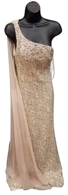 Preload https://img-static.tradesy.com/item/20816180/dave-and-johnny-cream-gown-long-formal-dress-size-6-s-0-1-650-650.jpg
