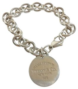 Tiffany & Co. Tiffany & Co. Round Disc Charm Bracelet