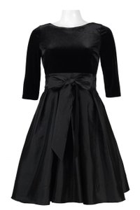 Adrianna Papell Black Formal Evening Dress