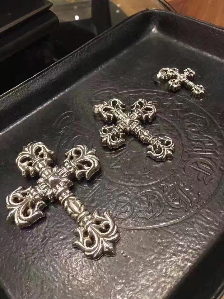 Chrome hearts silver large filigree cross pendant with bale charm chrome hearts large filigree cross pendant with bale 12345 aloadofball Gallery