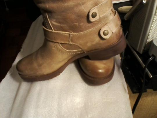 Arturo Chiang New Never Worn Leather sahara sand Boots