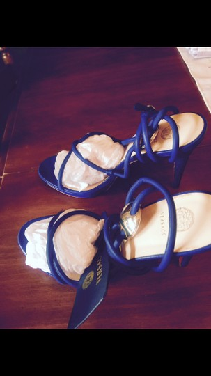 Versace Royal blue Sandals