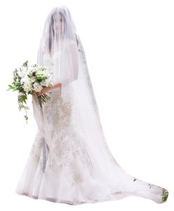 Bridal Cathedral Length Drop Veil