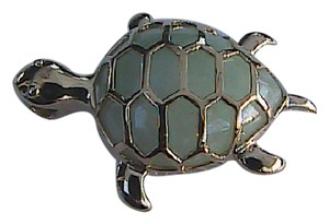 Other Vintage 10k Yellow Gold Turtle Pendant