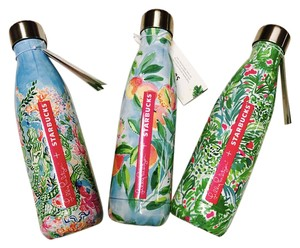 Lilly Pulitzer Set of 3 Lilly Pulitzer x Starbucks S'well Water Bottles