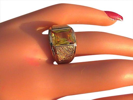 Preload https://img-static.tradesy.com/item/20816771/ss-and-10k-yellow-gold-citrine-vintage-sterling-30-cts-men-s-ring-0-1-540-540.jpg