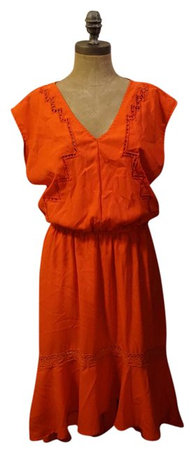 Preload https://img-static.tradesy.com/item/20816777/gibson-and-latimer-coral-boho-moroccan-sun-mid-length-short-casual-dress-size-10-m-0-1-650-650.jpg