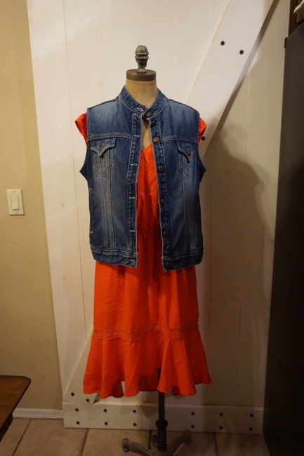 Gibson & Latimer short dress Coral Boho Hippie Morrocan Sundress Summer on Tradesy