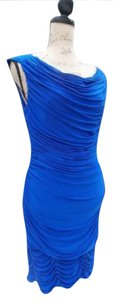 JS Boutique Sleeveless Runched Draped Dress