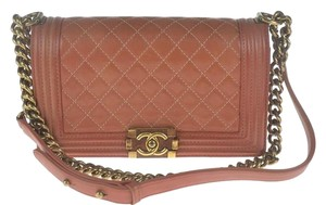 Chanel Boy Old Medium Shoulder Bag