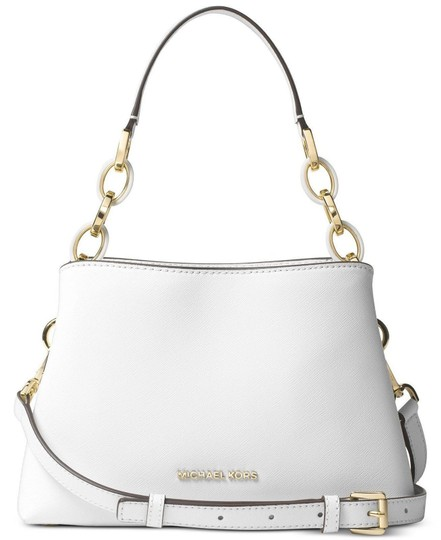 30b5ea0683c6 Michael Kors East West Satchel Saffiano Leather Large Portia Shoulder Bag  Image 0 ...