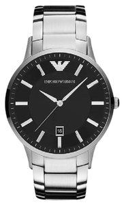 Emporio Armani 100% New In the box Authentic Emporio Armani AR2457 Mens Black Watch