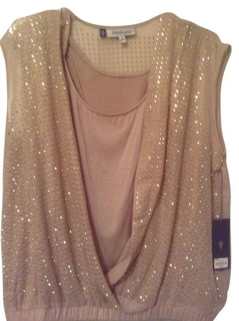 Preload https://item4.tradesy.com/images/jennifer-lopez-gold-night-out-top-size-10-m-2081698-0-0.jpg?width=400&height=650