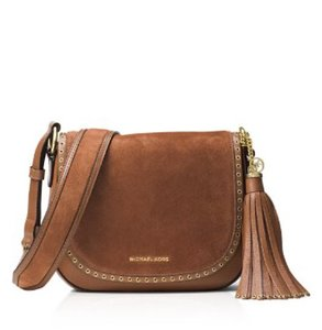 Michael Kors Brooklyn Saddle Luggage Shoulder Bag