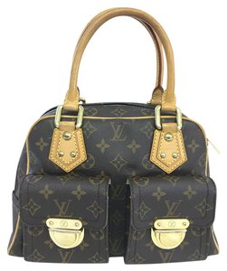 Louis Vuitton Lv Pm Monogram Manhattan Canvas Tote in brown