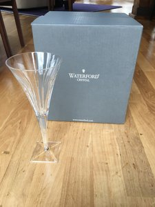 Waterford Crystal Goblets Set Of 8 Barware