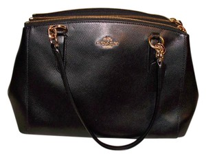 Coach Carryall Christie 36637 Satchel in Black