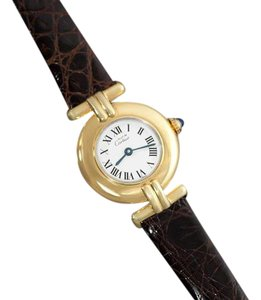 Cartier Cartier Colisee Ladies Vendome Vermeil Watch - 18K Gold over Sterling