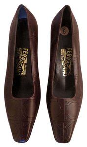 Salvatore Ferragamo pump Brown Pumps