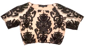 For Love & Lemons Top Nude, Black