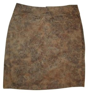 Chico's Skirt brown & black