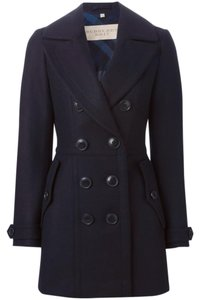 Burberry Brit Cashmere Wool Mid-length Coat