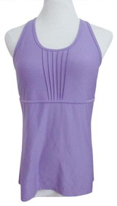 Soma Intimates Soma Sport Solutions Athletic Top Empire Waist Built In Bra Lavender