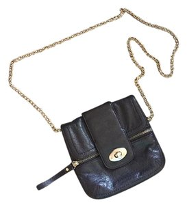 Banana Republic Evening Date Night Leather Timeless Chain Cross Body Bag