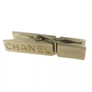Chanel RARE* 925 silver metal stationeries memo document clip