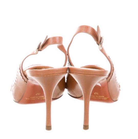 Santoni Nude/Tan Pumps Image 3