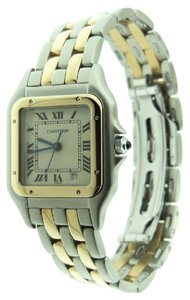 Cartier Cartier Panthere Mid-Size 27mm Two Row 18K Yellow Solid Gold / SS Date