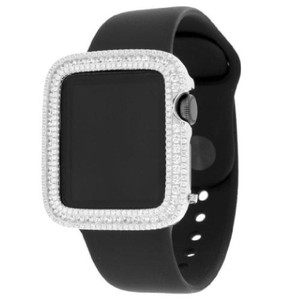 Apple Apple Watch 38mm Stainless Steel Case Simulate Diamond Sport Band