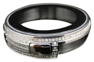 Gucci Steel And Genuine Diamond Bezel Case for I Gucci Digital Watch 3.5 Ct