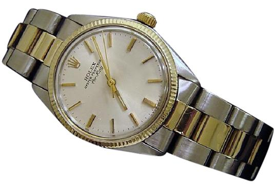 Preload https://item4.tradesy.com/images/rolex-silver-mens-two-tone-14kss-air-king-5501-watch-20818728-0-3.jpg?width=440&height=440