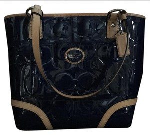 Coach Tote in Royal Blue