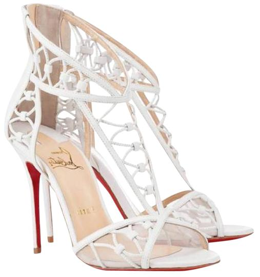 Preload https://item3.tradesy.com/images/christian-louboutin-white-martha-leather-cutout-heels-pumps-sandals-size-us-7-20818752-0-1.jpg?width=440&height=440