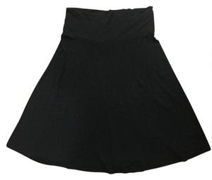 Gap Foldover Comfortable Skirt Black