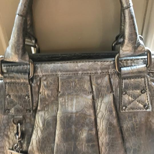 Vera Wang Satchel in two toned metallic