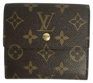 Louis Vuitton Louis Vuitton Monogram Canvas Wallet