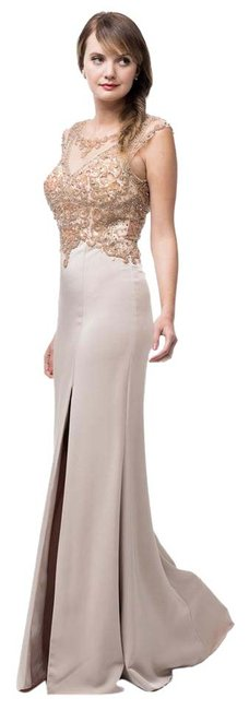 Preload https://item1.tradesy.com/images/ag-studio-taupe-gold-mg1733-long-formal-dress-size-16-xl-plus-0x-20818955-0-1.jpg?width=400&height=650